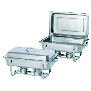 Twin Pack - 2 Chafing Dishes 1/1GN